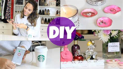 4 ideas para decorar tu habitación! | What The Chic   YouTube
