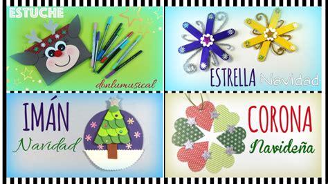 4 ideas para Navidad. Manualidades para niños | EL RINCÓN ...