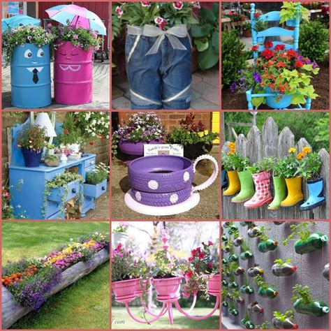 40+ Creative DIY Garden Containers and Planters from ...