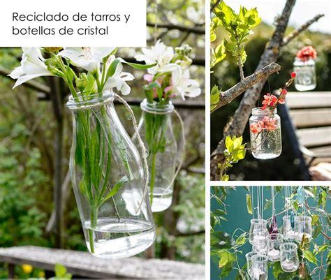 40 ideas de reciclaje y manualidades para el jardín | Plantas