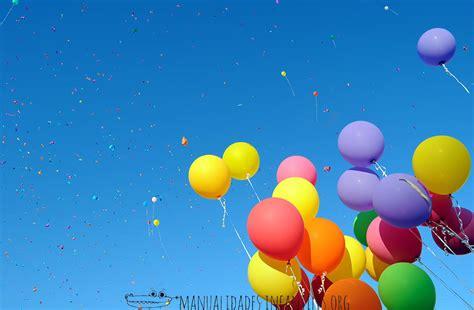 5 ideas con globos para fiestas   Manualidades Infantiles