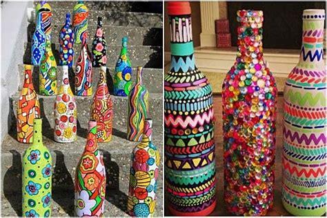 5 Ideas para decorar botellas de cristal paso a paso