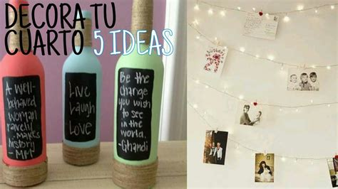 5 IDEAS PARA DECORAR TU CUARTO |Sebastian Villalobos   YouTube