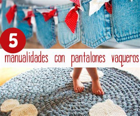 5 manualidades originales con pantalones vaqueros   Pequeocio