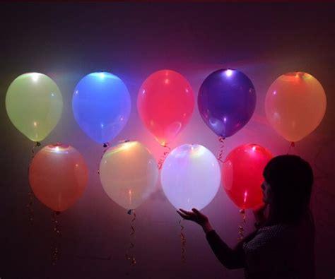 50 Globos Latex Con Luz Led Fiestas Eventos Party Helio Dj ...