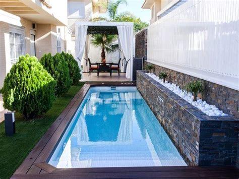 53 modelos de piscinas pequenas para todo tipo de espaço ...