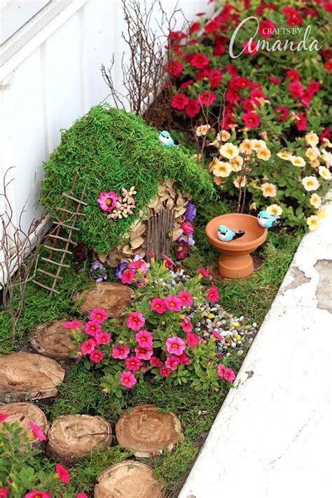 6 jardines de fantasía y hadas para hacer en casa   Guía ...