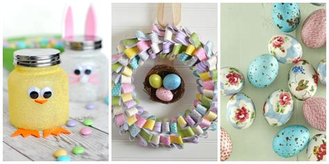 60 Easy Easter Crafts   Ideas for Easter DIY Decorations ...