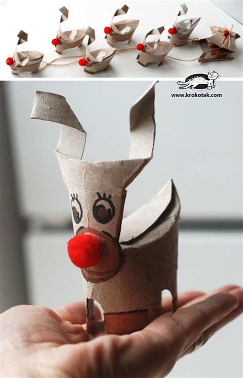 7 manualidades navideñas con rollos de papel   Pequeocio