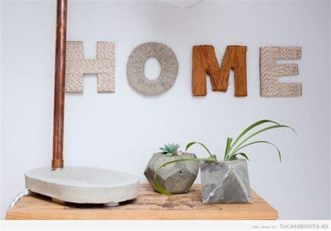 7 manualidades originales y bonitas para decorar tu casa ...