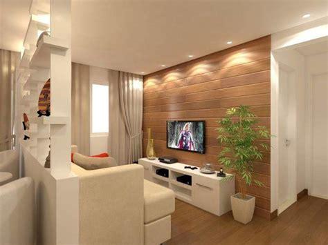70 ideias de salas pequenas decoradas e lindas para se ...