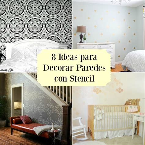 8 ideas DIY para decorar paredes con stencil   Guía de ...