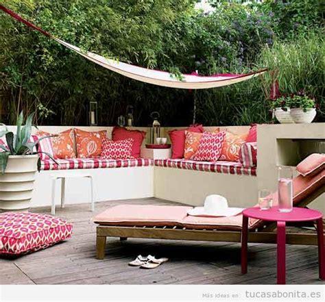 8 ideas para decorar terrazas, jardines o patios | Tu casa ...