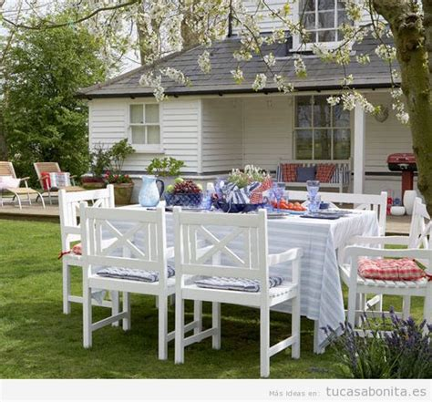 8 ideas para decorar terrazas, jardines o patios   Tu casa ...