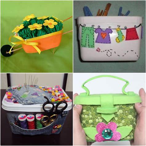 9 ideas de manualidades para reciclar envases de ...