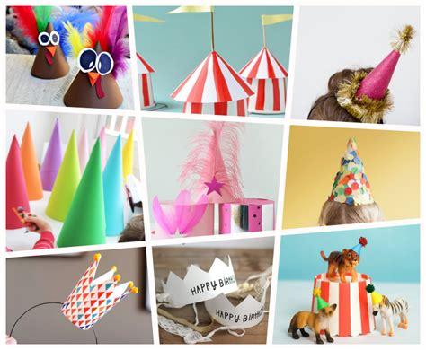 9 Ideas para Fiestas y Cumples: Gorros, Sombreros y ...