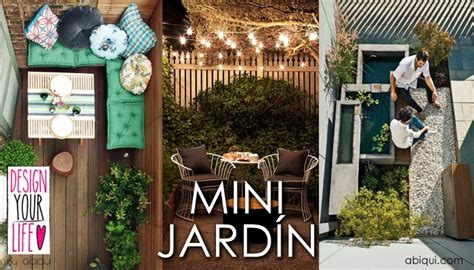 9 IDEAS PARA MINI   JARDINES   Design your life by abiqui