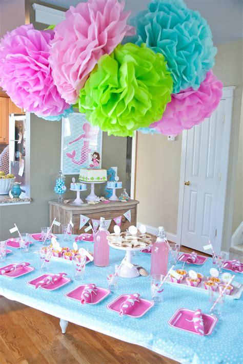 A Dreamy Mermaid Birthday Party   Anders Ruff Custom ...
