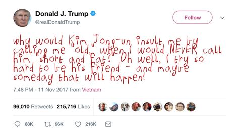 A plugin to display Trump tweets in crayon font – Sound Books