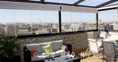 acristalamientos, media altura, barandilla techo, lumon ...