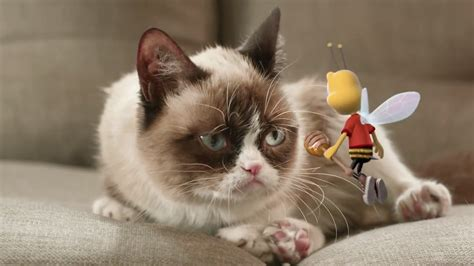 Ad of the Day: Grumpy Cat Gets Stung by the Honey Nut ...