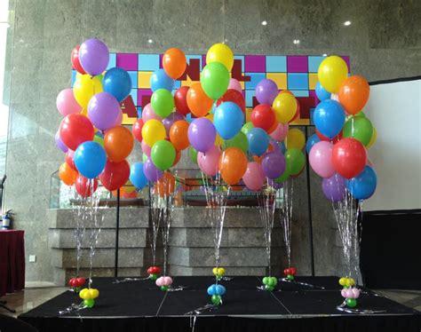 Adornos con globos   ideas geniales para decorar una fiesta