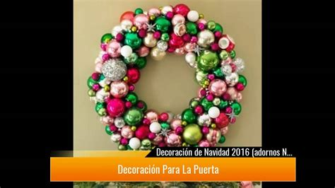 ¡Adornos de Navidad con manualidades y otra decoración ...
