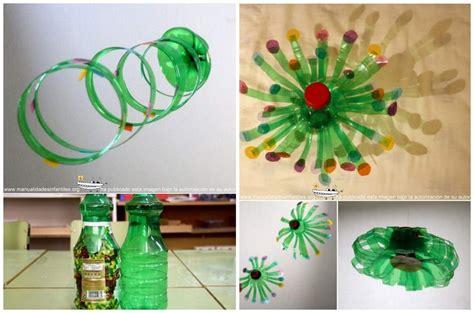 Adornos de navidad reciclados con botellas de plástico ...