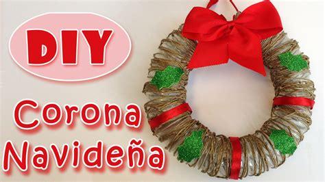 Adornos navideños   Corona de Navidad   Christmas wreath ...