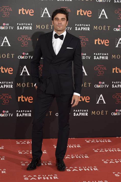 Alex García en la alfombra roja de los Premios Goya 2016 ...