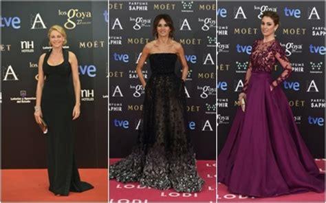 Alfombra Roja de los Goya: Los 30 mejores vestidos de sus ...