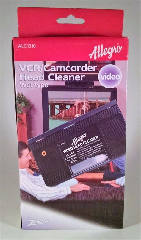 ALG1310 ZENITH Allegro VCR Camcorder Head Cleaner Video ...