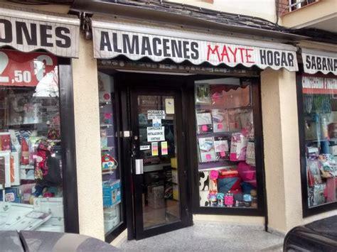 ALMACENES MAYTE, ROPA DE HOGAR, INSTALACIÓN Y CONFECCIÓN ...