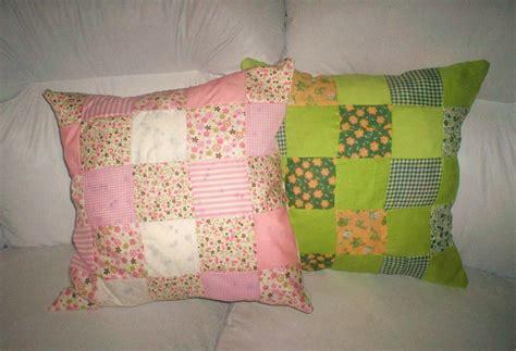 Almohadones decorados con tela ~ Portal de Manualidades