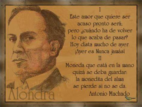 Alondra   Poema de Antonio Machado | Modernismo y ...
