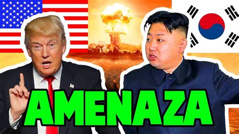 AMENAZA COREA DEL NORTE A DONALD TRUMP ULTIMA HORA 2017 ...