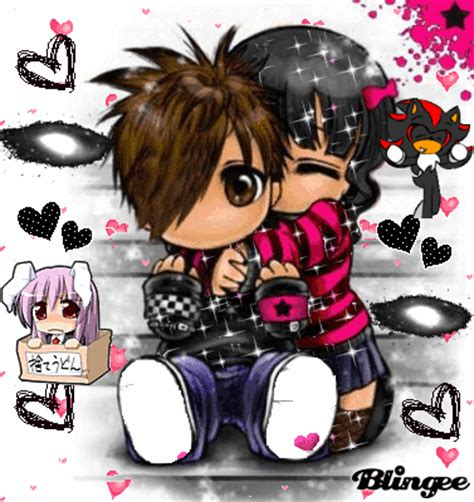 amor emo Picture #68659462 | Blingee.com