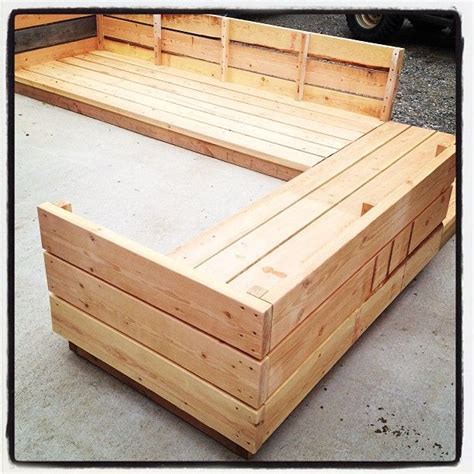 Ana White | Build a Platform Outdoor Sectional | Free and ...