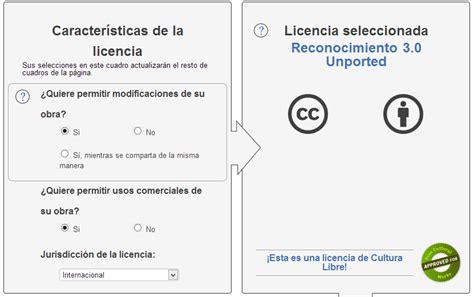 Añade una licencia Creative Commons para tu Blog ~ Diarios ...