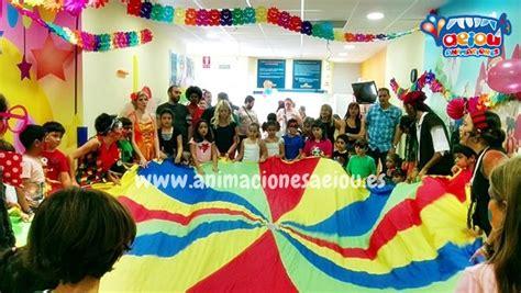 Animadores para fiestas de cumpleaños infantiles Barcelona