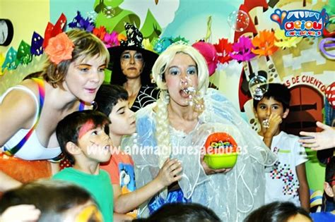 Animadores para fiestas de cumpleaños infantiles en Barcelona