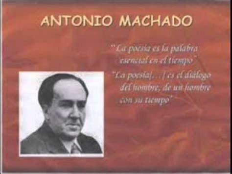 Antonio Machado  El Viajero    YouTube