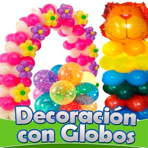 Aprende Decoracion Con Globos Hacer Arreglos Y Globoflexia ...