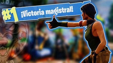 APRENDIENDO A JUGAR Y VICTORIA!!   Fortnite Battle Royale ...