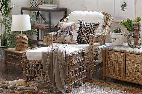 Aprovecha los muebles de terraza ¡dentro de la casa!