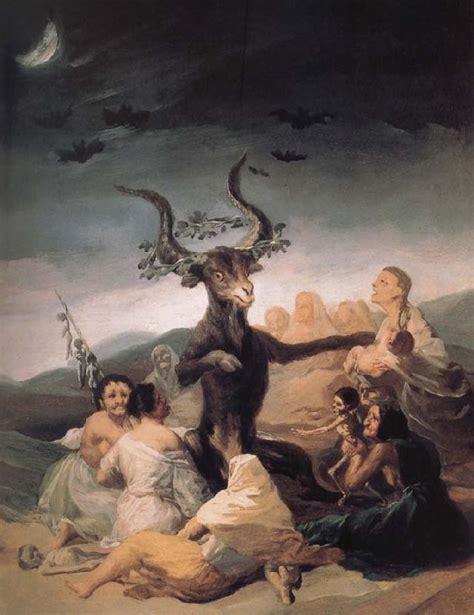 Aquelarre d~El Francisco de goya y Lucientes Les ...
