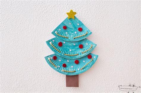 Árbol de Navidad con platos de papel   Manualidades Infantiles