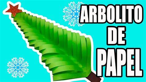 Árbol de navidad de papel, manualidad de origami fácil y ...