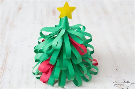 Árbol de Navidad de papel   Manualidades Infantiles