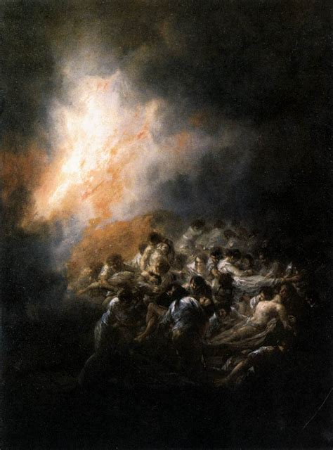 Archivo:Francisco de Goya y Lucientes   Fire at Night ...